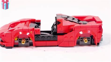 Abaixo, você pode visualizar e baixar as instruções de criação de pdf gratuitamente. Конструктор LEGO Speed Champions 76895 Ferrari F8 Tributo 2020 - YouTube