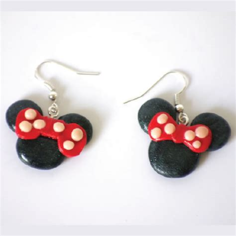 minnie mouse earrings craft  kids