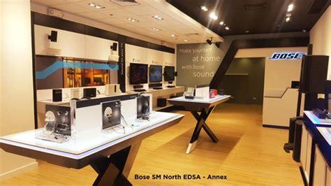 bose  opens concept stores  sm mall  asia  sm
