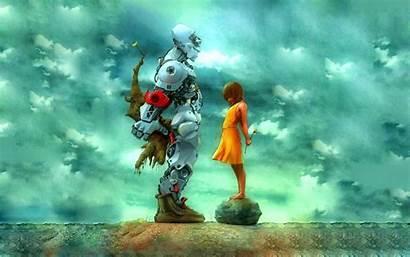 Robot Fiction Science Artwork Computer Mythology Children