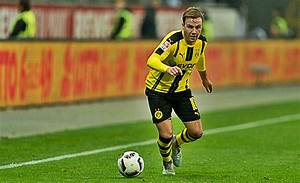 Mario Gotze To Miss Borussia Dortmund's Champions League ...