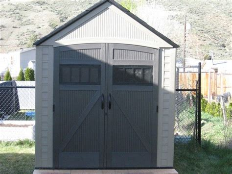 rubbermaid storage shed accessories canada 1000 ideas about rubbermaid shed on shed