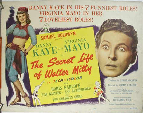 Check out our secret life of walter mitty poster selection for the very best in unique or custom, handmade pieces from our prints shops. THE SECRET LIFE OF WALTER MITTY, Original Danny Kaye Movie ...