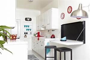 Table Murale Cuisine : gain de place dans la petite cuisine astuces meubles et gadgets au top ~ Teatrodelosmanantiales.com Idées de Décoration