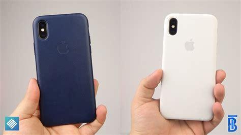 iphone x zubehör review apple silikon leder f 252 rs iphone x