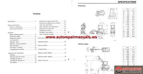 takeuchi tb15 operator manual auto repair manual forum heavy equipment forums
