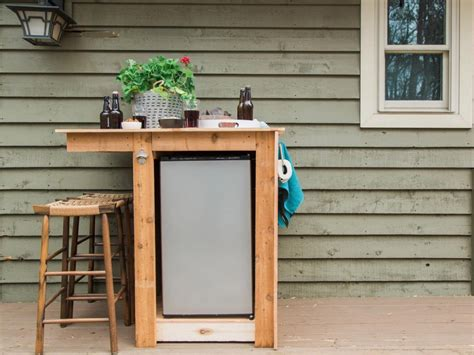 Small Bar With Refrigerator by How To Build A Wood Cabinet For Small Fridge Mini
