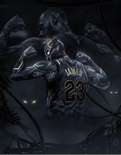Dope Nba Lebron Panther Basketball James Jordan