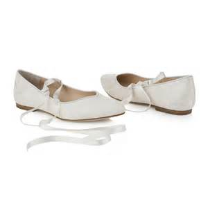 ivory lace wedding shoes bluebell flat ivory lace wedding shoes by notonthehighstreet