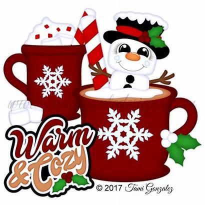Cozy Warm Clipart Mug Clip Coffee Cuddlycutedesigns