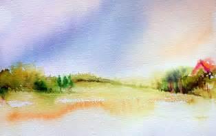 Easy Watercolor Landscape Paintings