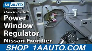 How To Replace Window Regulator 98