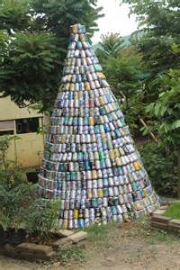 boracay island news residents urged to make christmas tree out of recycled materials
