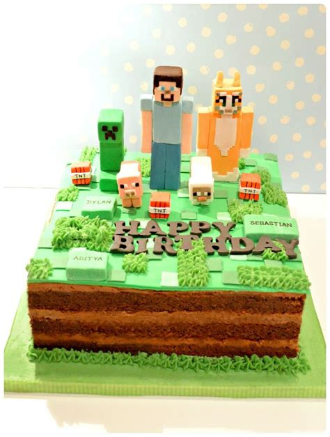 141 best images about cakes minecraft on
