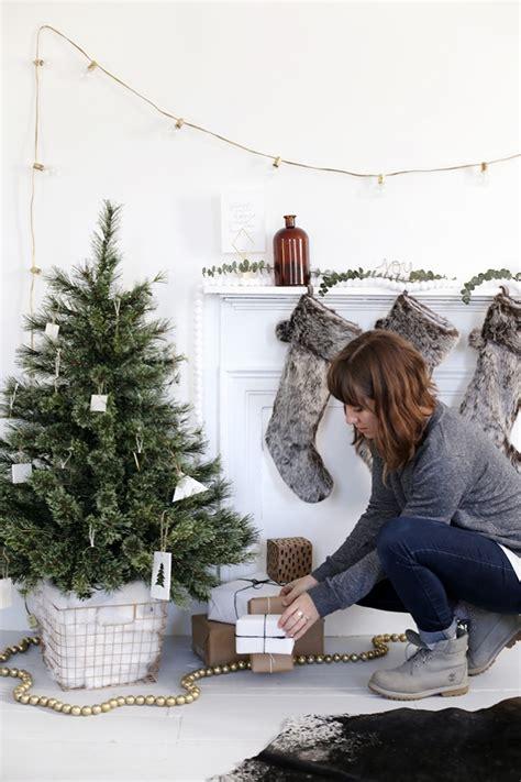 diy tree skirt alternative  merrythought