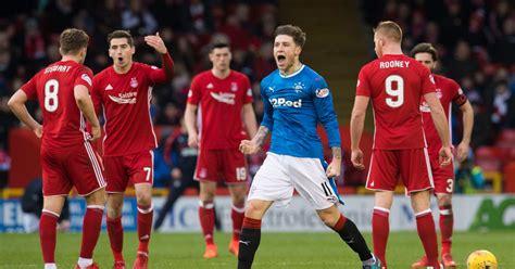 Aberdeen and Rangers player ratings as Derek McInnes' men ...