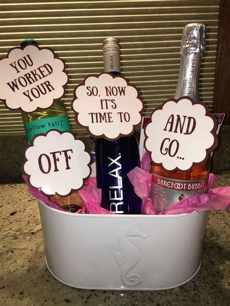 graduation gift basket wine gift basket  yellow