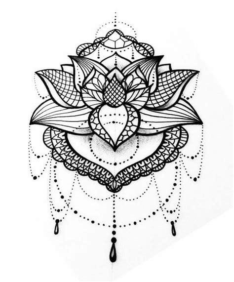 mandala tattoo images pictures  ideas