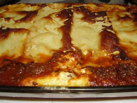 lasagna with cottage cheese beef lasagna with cottage cheese bakingmehungry