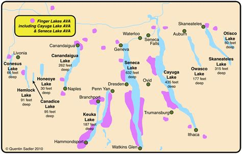 Empire State of Wine: Essential NY Maps & Facts   Grapes ...