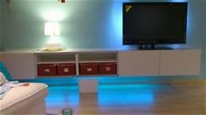 Tv Lowboard Ikea : wie bekomme ich mein neues lowboard von ikea an die wand ~ A.2002-acura-tl-radio.info Haus und Dekorationen