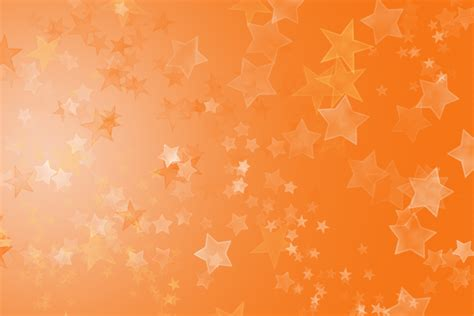orange star glitter