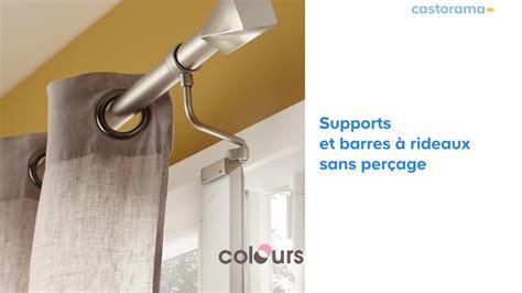 gamme de supports barre rideaux sans perage castorama with crdence adhsive castorama