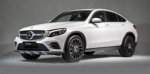 2017 Mercedes Benz GLC Coupe AMG GLC43 Coupe Revealed