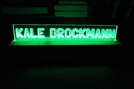 Cool Desk Name Plates by 10 Coolest Led Products Cool Products Oddee