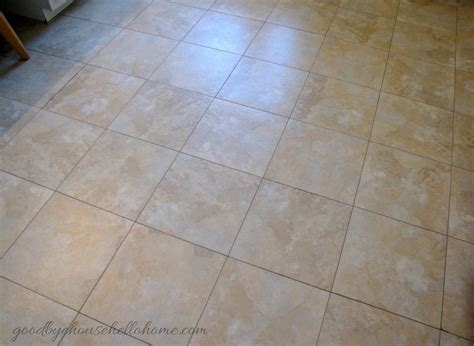 Blue Hawk Saddle Gray Vinyl Tile Grout by Goodbye House Hello Home How To Install