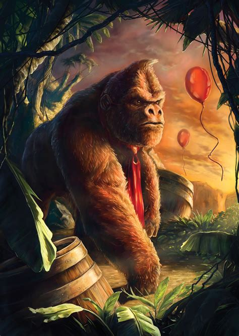 Donkey Kong Illustration