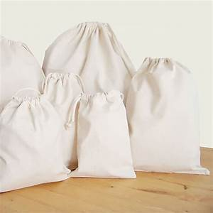 Drawstring Bag 100% Cotton For Promotional Use, Packaging