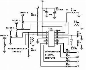 dc servo motor driver circuit diagram world With servo motor circuit
