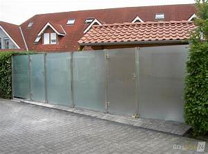 Trennwände Garten Edelstahl : glaszaun f r wind und sichtschutz glasprofi24 ~ Sanjose-hotels-ca.com Haus und Dekorationen