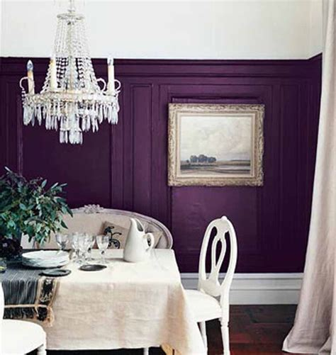 purple dining room ideas dining room with purple accent wall ideas for my home pinterest