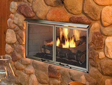 outdoor lifestyles villa gas fireplace compact outdoor