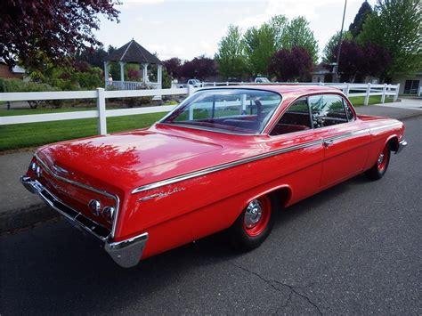1962 Chevrolet Bel Air 2 Door Bubbletop 174625
