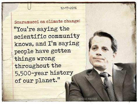 Scaramucci Memes - 25 best memes about climate change climate change memes