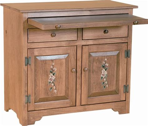 Amish Sideboard by Pine Wood Sideboard With Serving Tray By Dutchcrafters