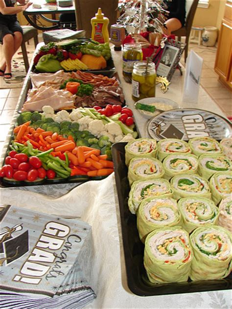 Food at Graduation 2009   Food from my High School Graduatio   Flickr   Photo Sharing!