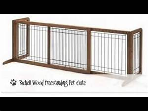Best indoor dog gates youtube for Dog fence for inside house