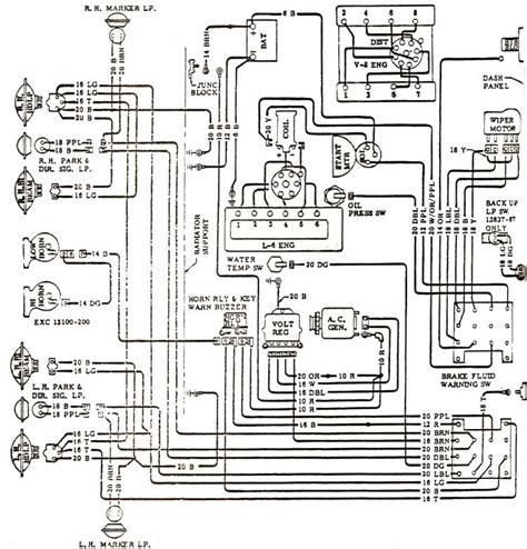 68 Chevy Wiring Schematic For by 1968 Chevelle Wiring Diagrams