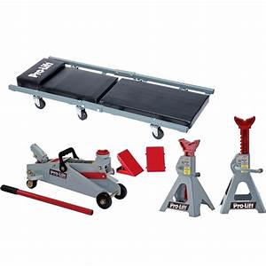 prolift f 2332jsc 6 piece combo set garage in a box With pro lift floor jack manual
