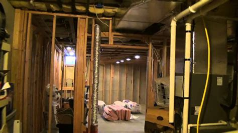 insulating basement storage room walls youtube