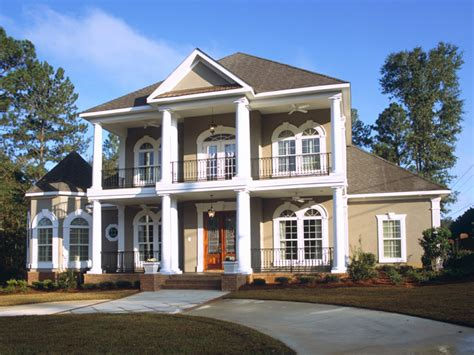 prentiss manor colonial home plan   house plans