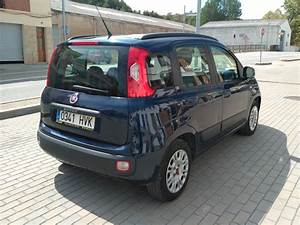 Fiat Panda Blau  1