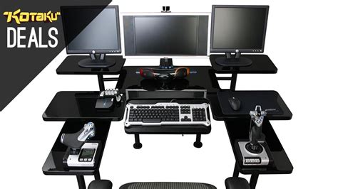 best gaming desk setup good best computer desk for gaming on best custom computer