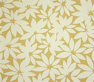 Summer leaves wallpaper a stylised contemporary floral