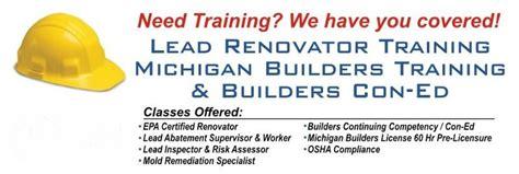 lead renovator training llc home