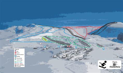 ecole de ski mont dore plan des pistes 224 besse plan des pistes au mont dore les pistes de ski du mont dore
